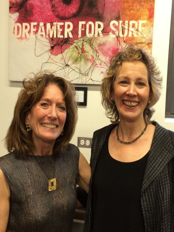 Beth & Jane at Strengthen the Voice of your Inner Coach workshop 2014